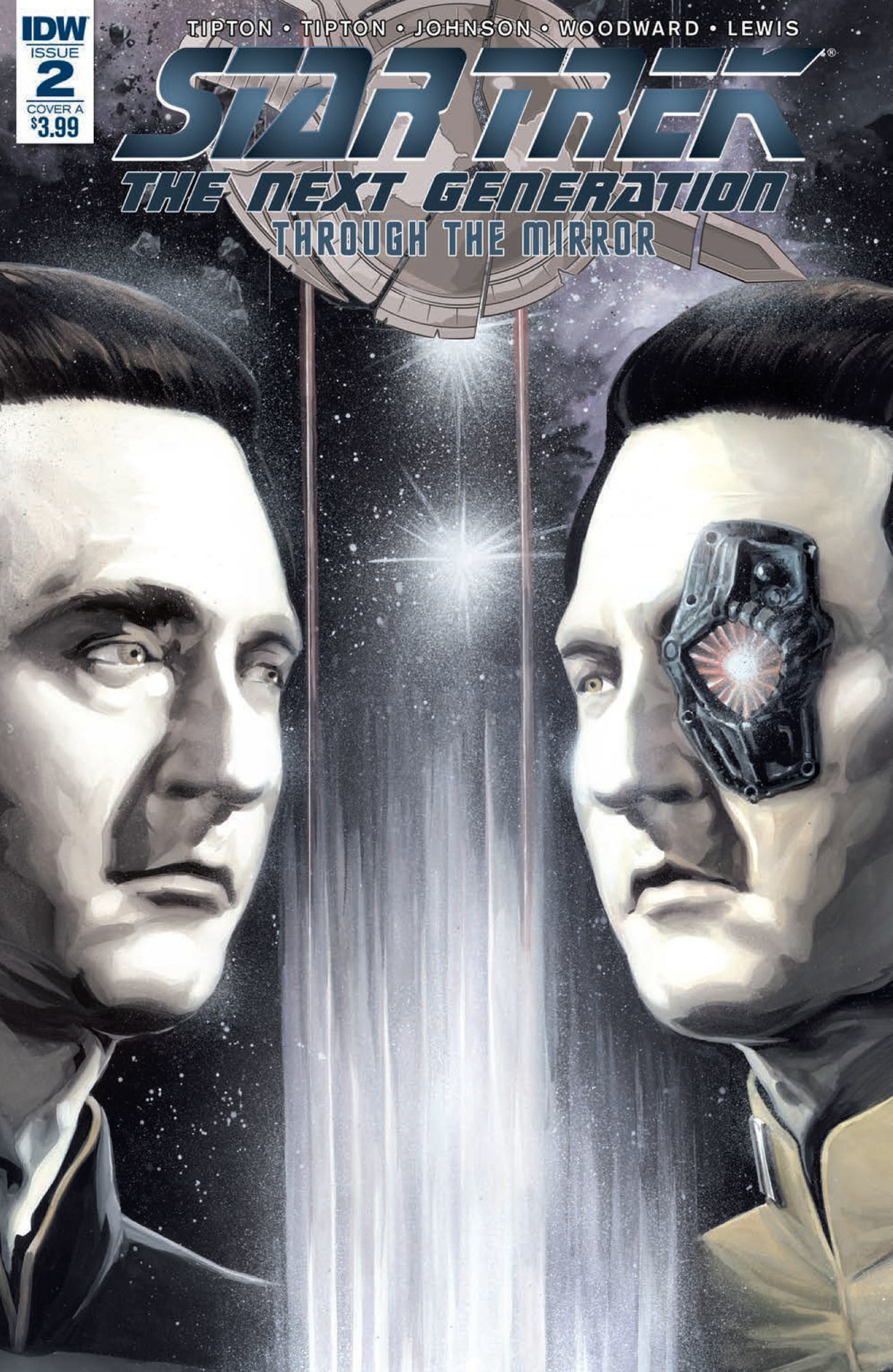 Star Trek: The Next Generation: Through the Mirror 2 cover