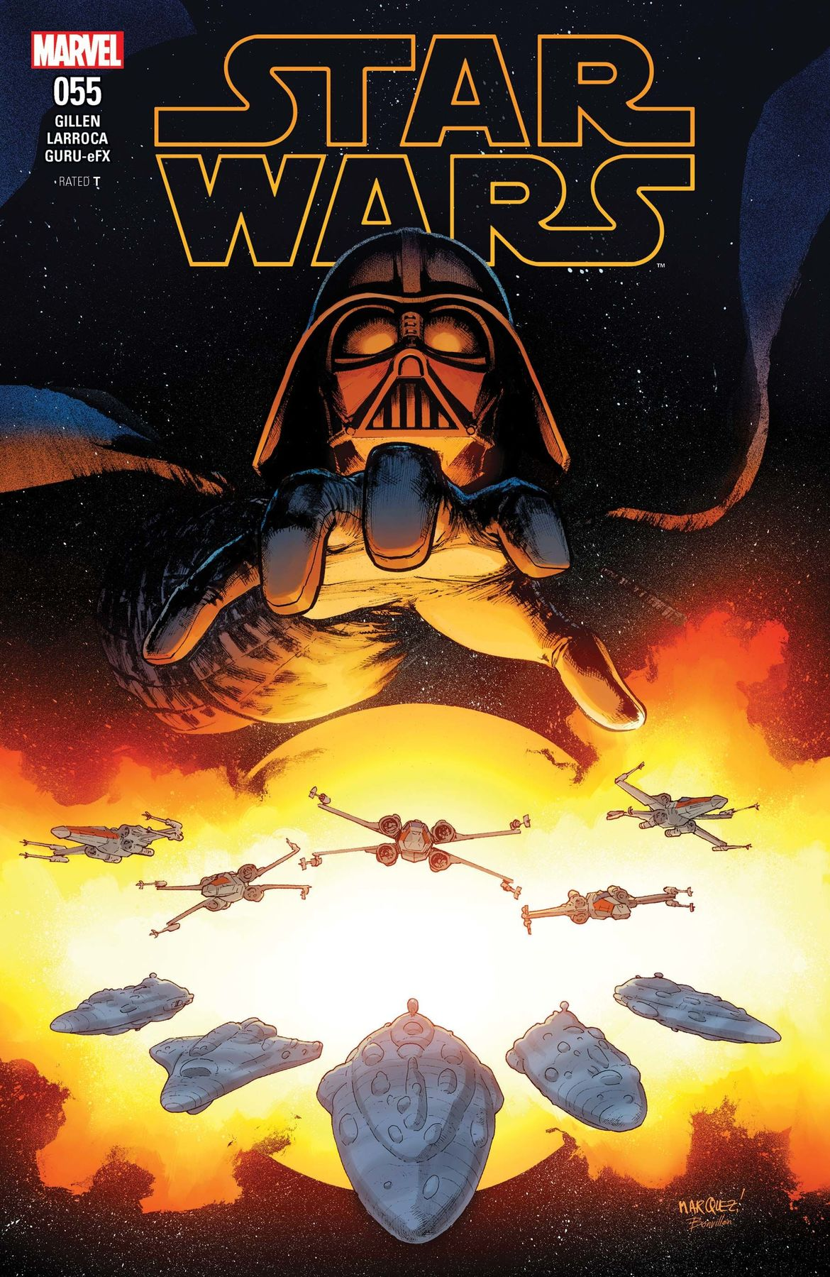 Star Wars comic cover
