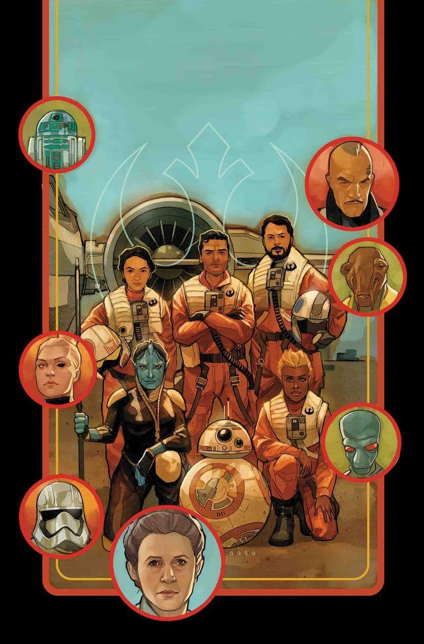 Star Wars Poe Dameron final issue