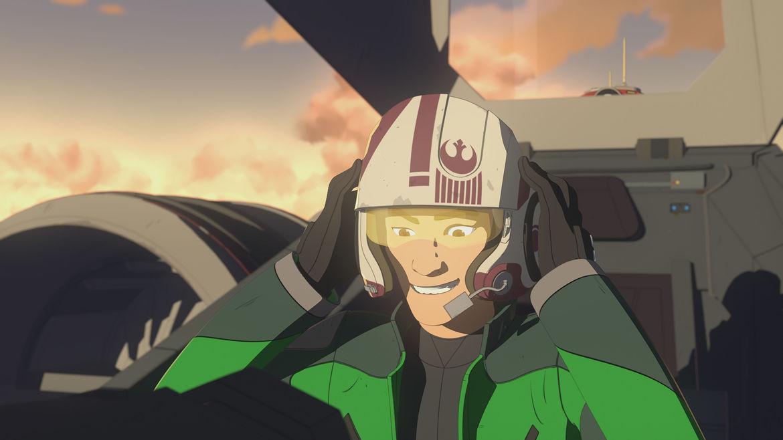 Star Wars Resistance Ep 7 Kaz Pilot