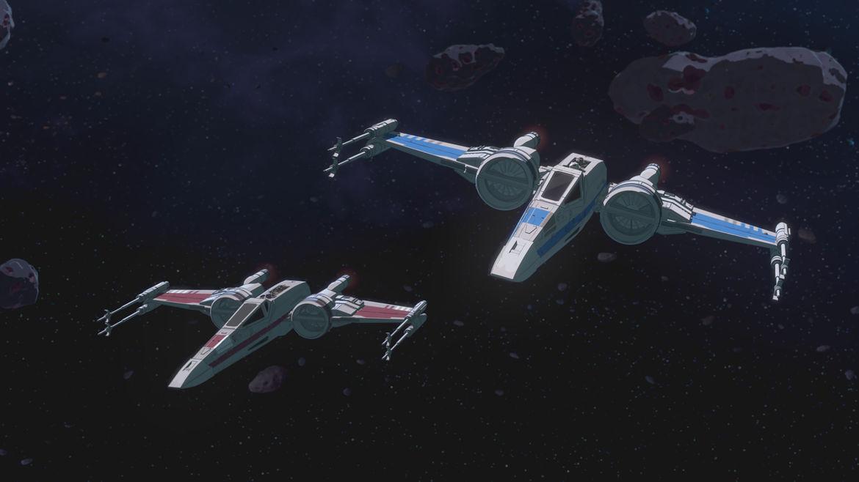 Star Wars Resistance Ep 7 X Wings