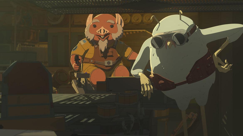 Star Wars Resistance Episode 8 Bird and Pig