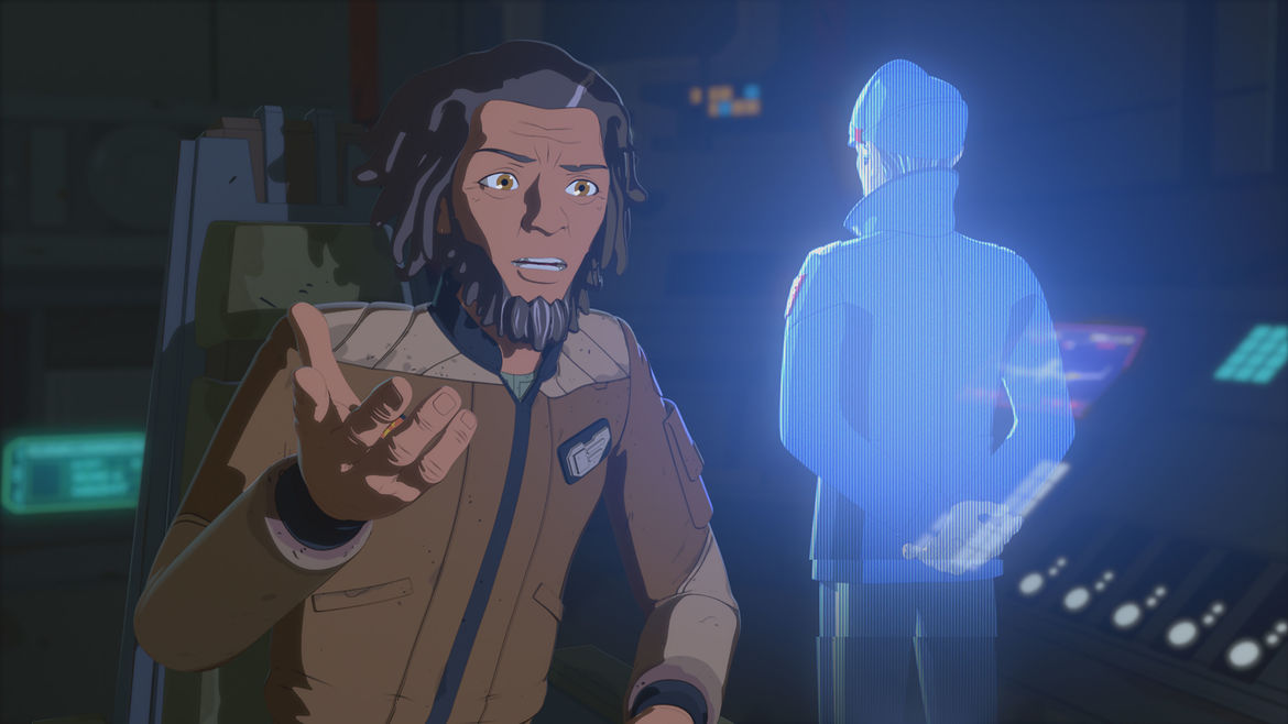 Star Wars Resistance Episode 8 Yeager