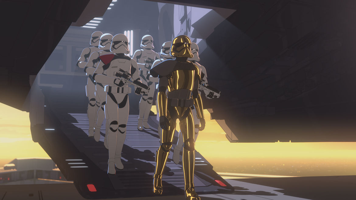 Star Wars Resistance The New Trooper 1
