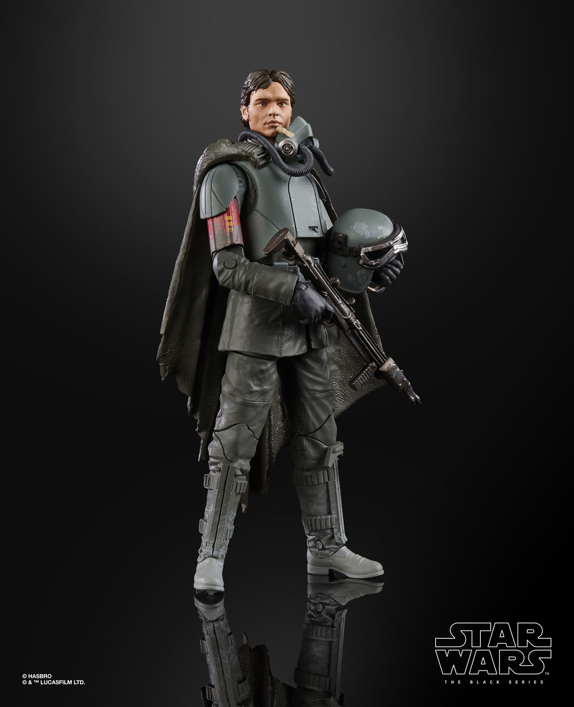 STAR WARS THE BLACK SERIES FIGURE - Han Solo Mimban (2)