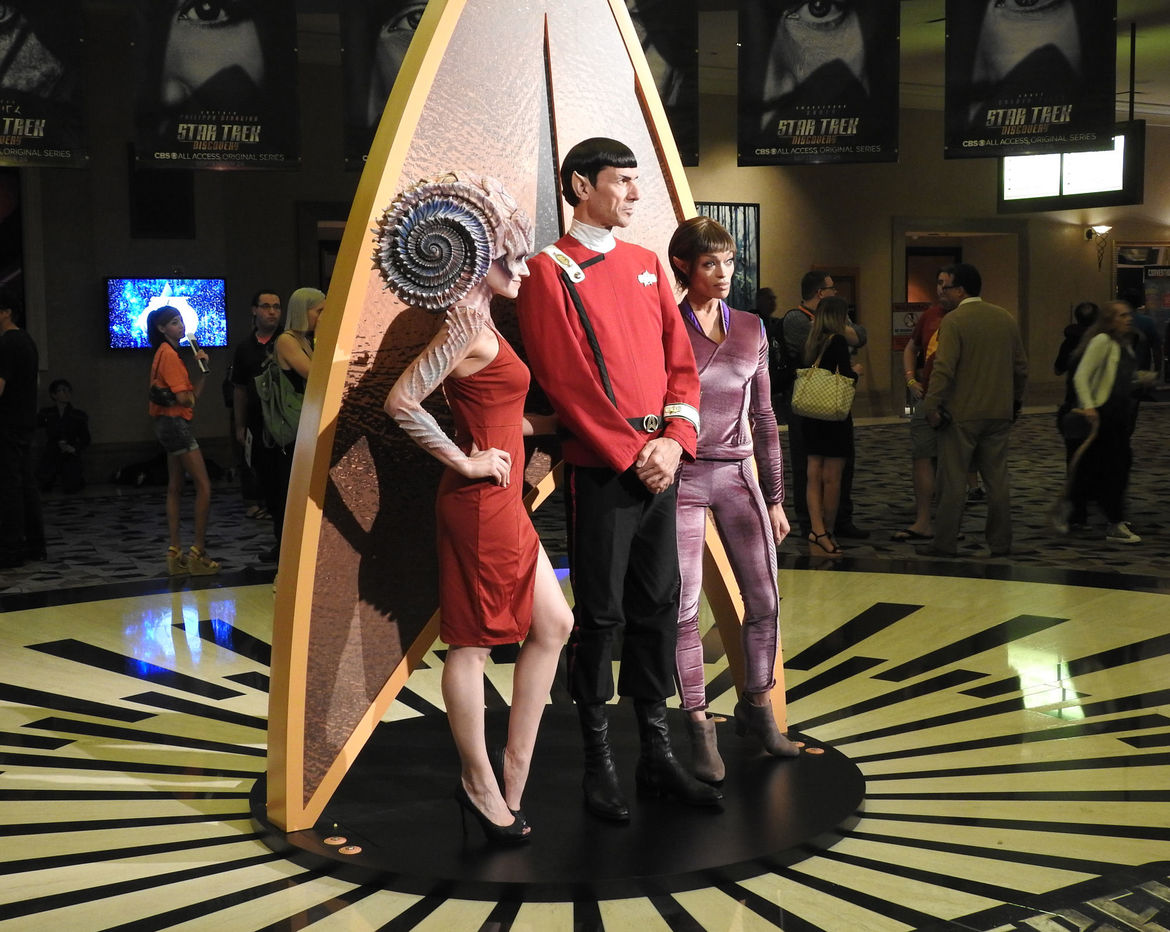 Amazing cosplay at the Star Trek Las Vegas convention in 2017. Credit: Phil Plait