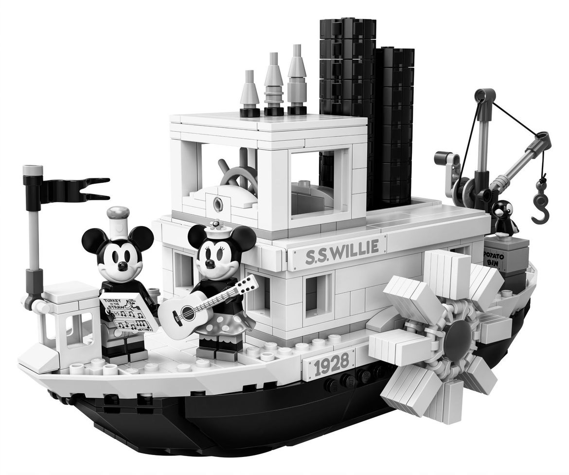Steamboat Willie Mickey Mouse Minnie Mouse
