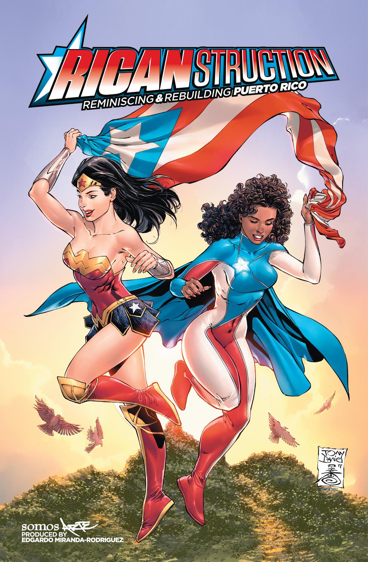 Ricanstruction, DC Comics, Edgardo Miranda-Rodriguez, Puerto Rico