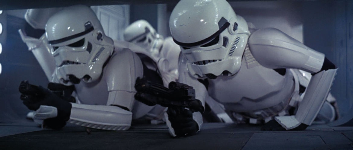 Stormtroopers Star Wars: A New Hope
