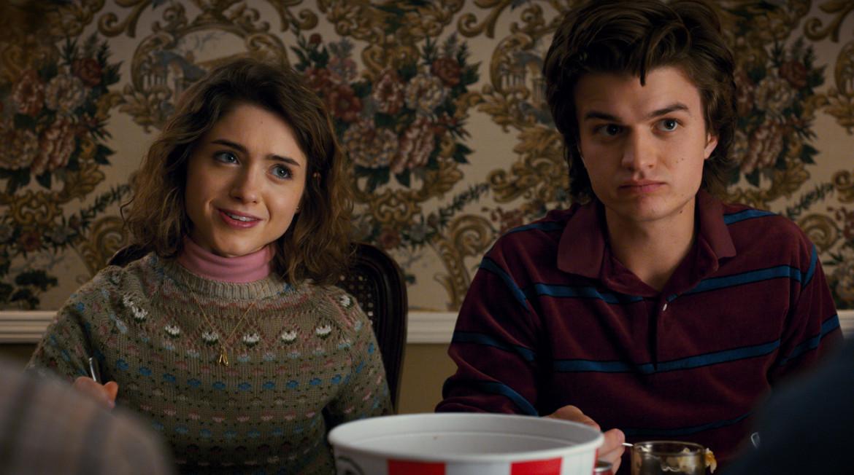 Stranger Things Steve and Nancy