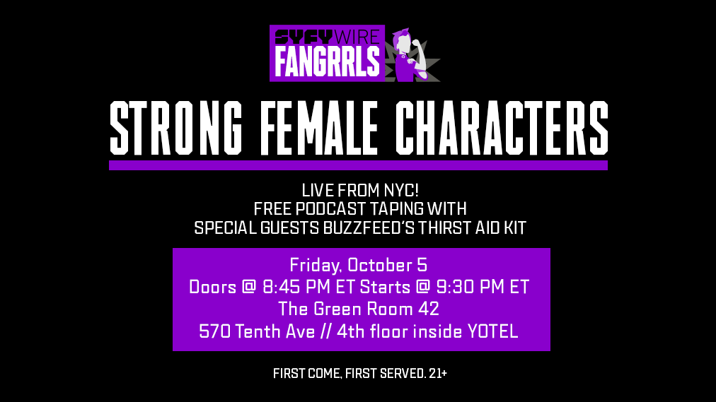 Strong Female Characters show