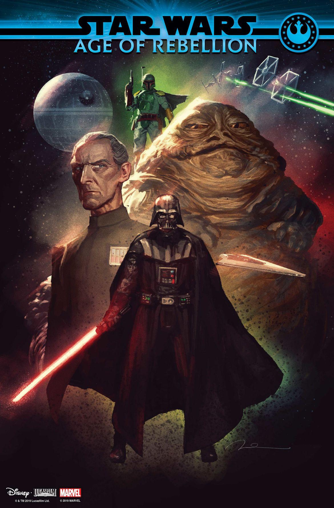 Star Wars: Age of Rebellion villain cover