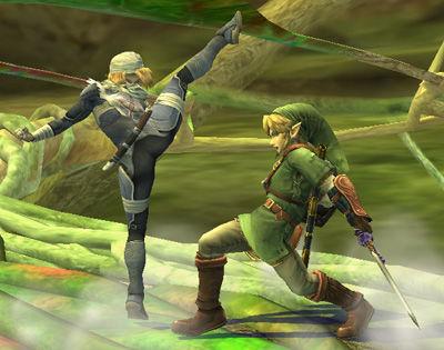 super-smash-bros-brawl-sheik-kick
