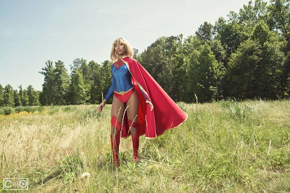 Supergirl jasmine mackey cosplay