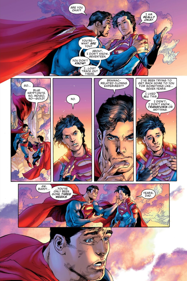 Superman #7 page