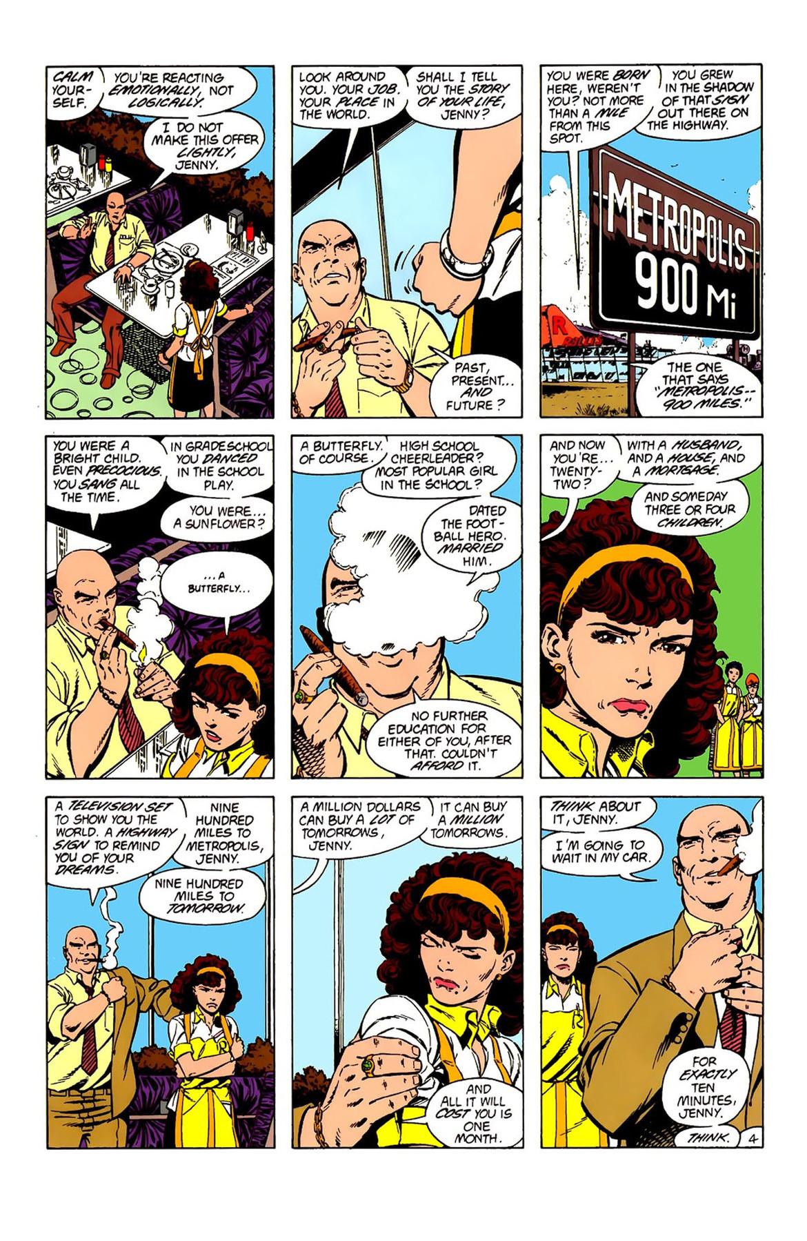 Superman 9 Lex Luthor backup