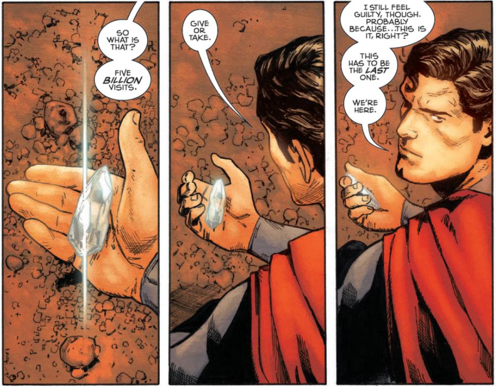 superman action comics 1000 of tomorrow