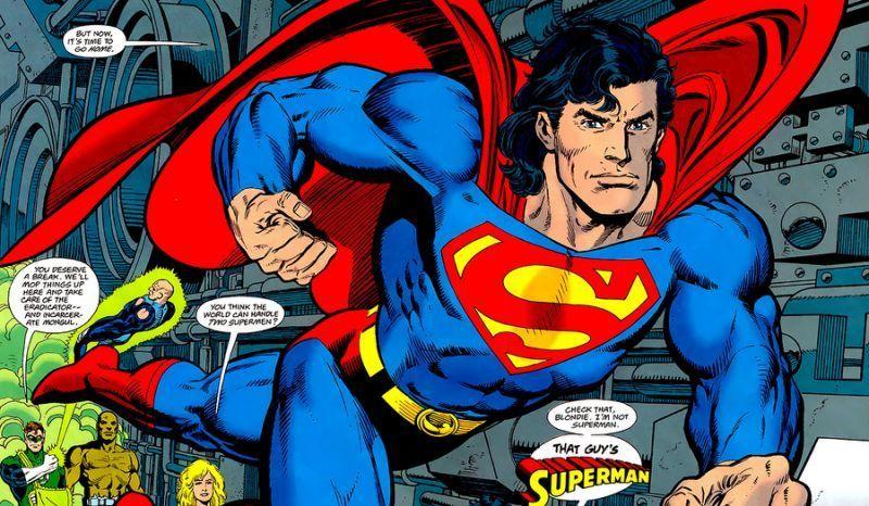 Superman Mullet