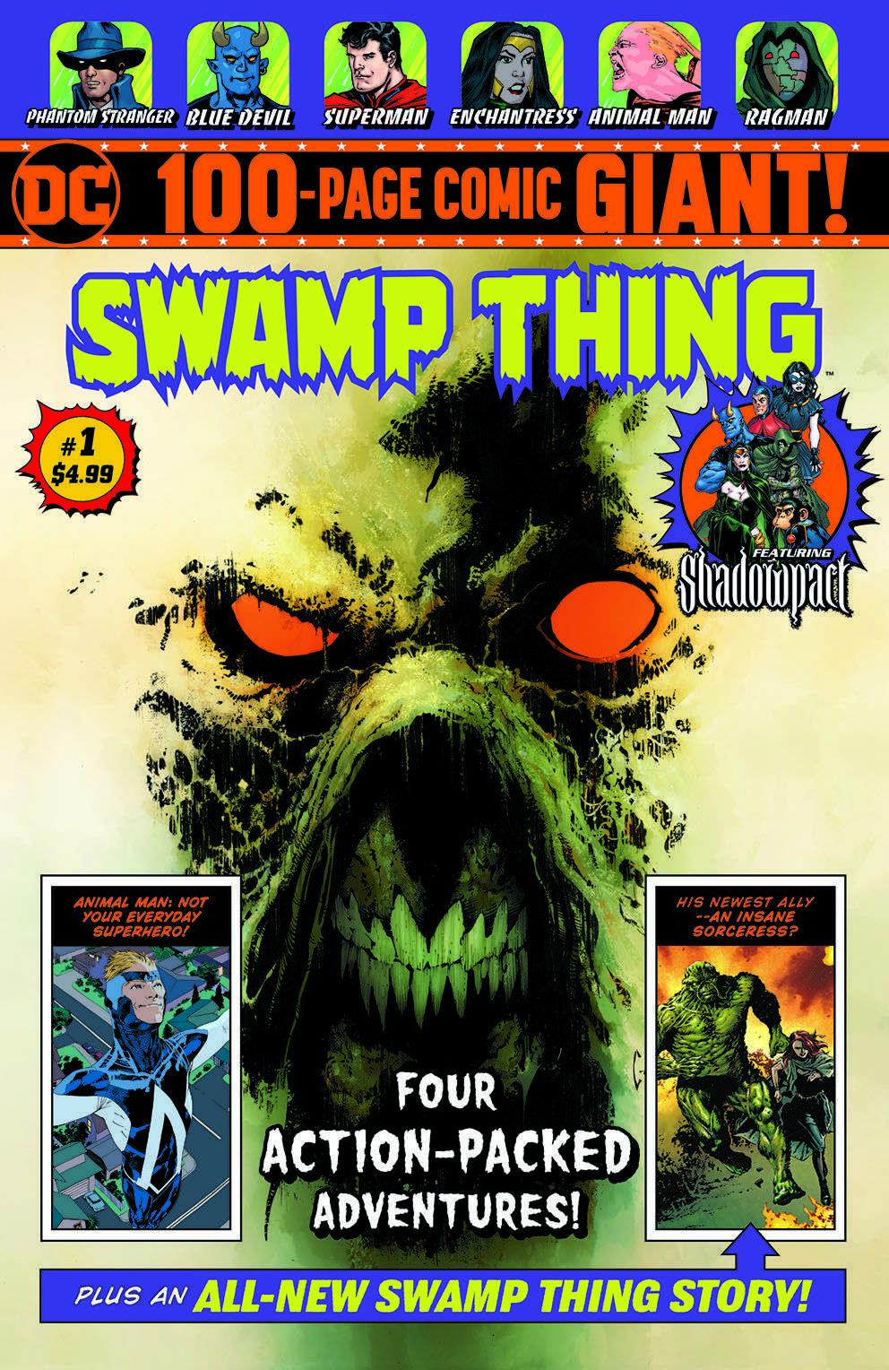 Walmart Swamp Thing Giant #1