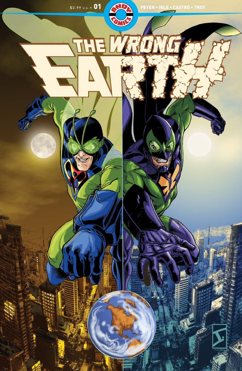 The Wrong Earth cover