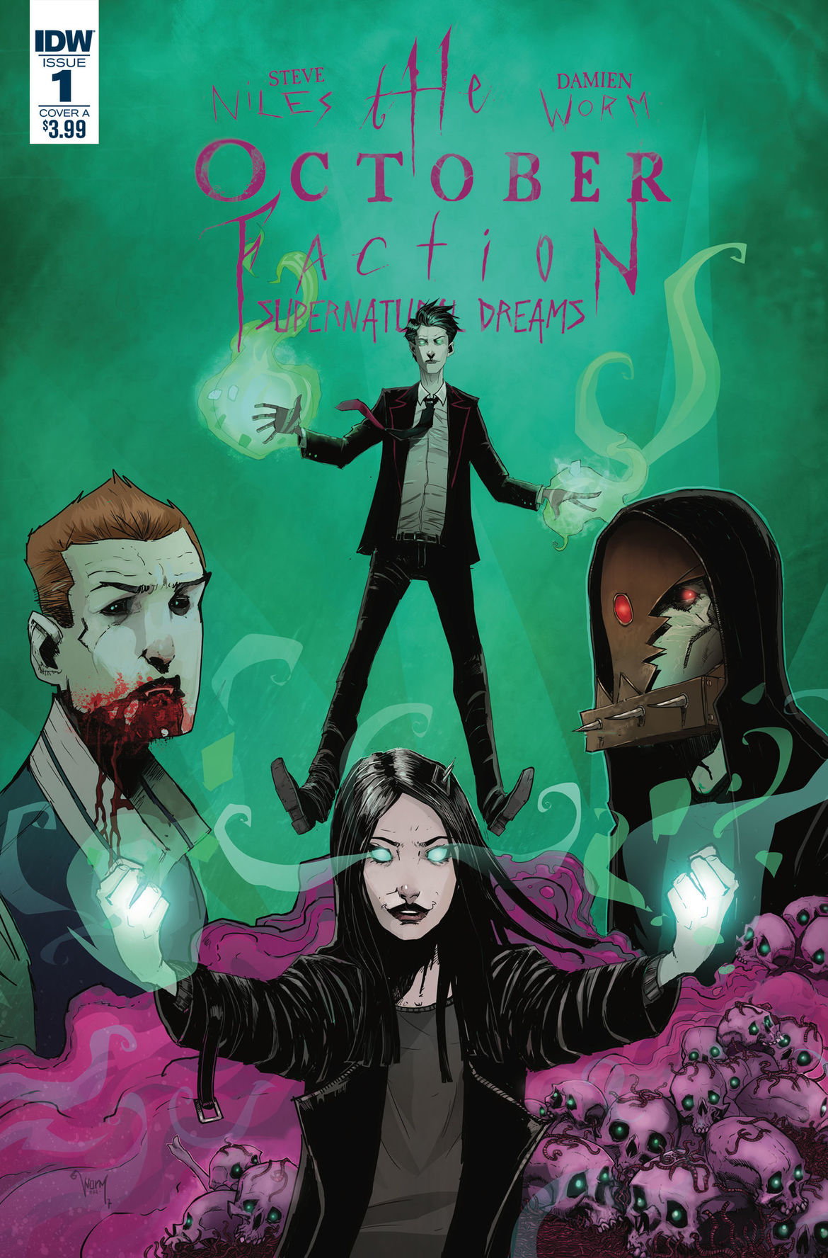 October Faction IDW Publishing