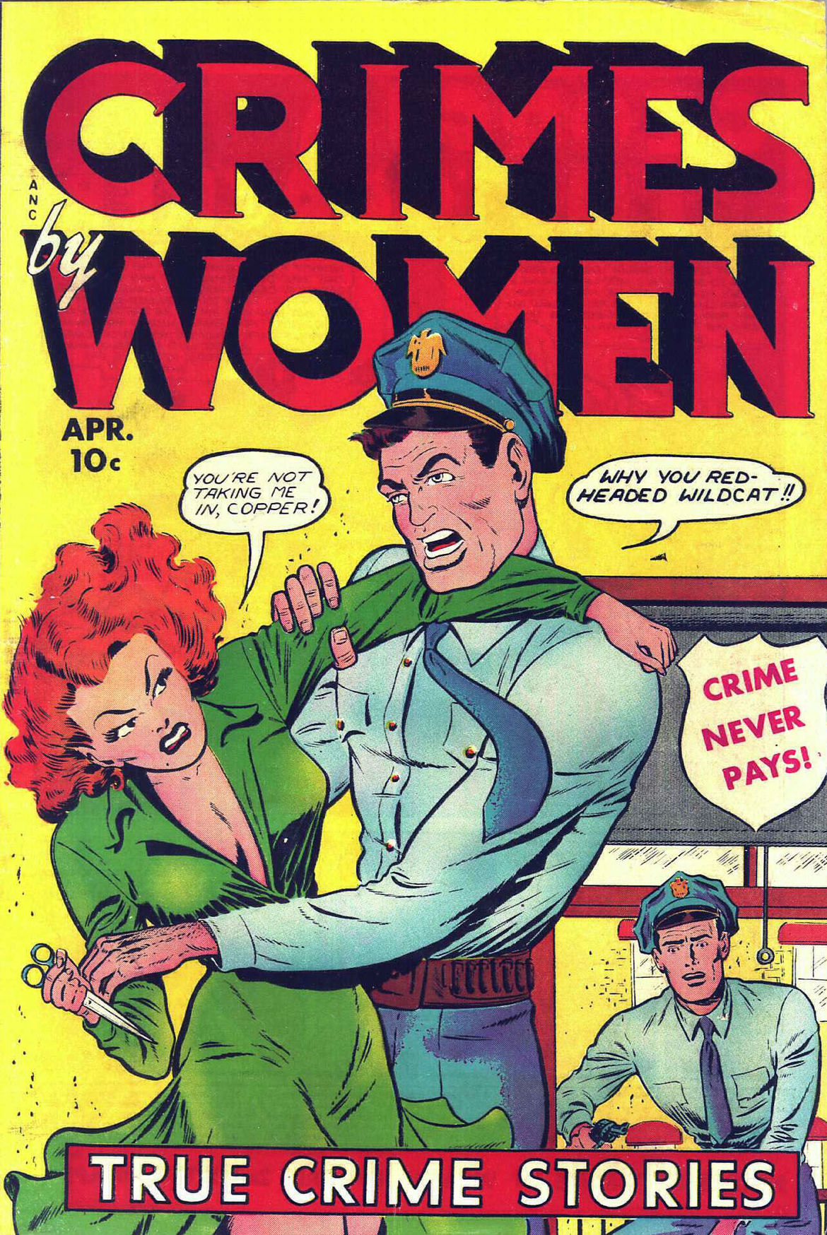 Crimes By Women Comic