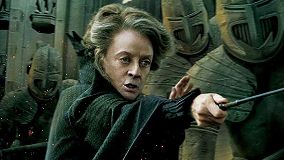 Minerva McGonagall hero