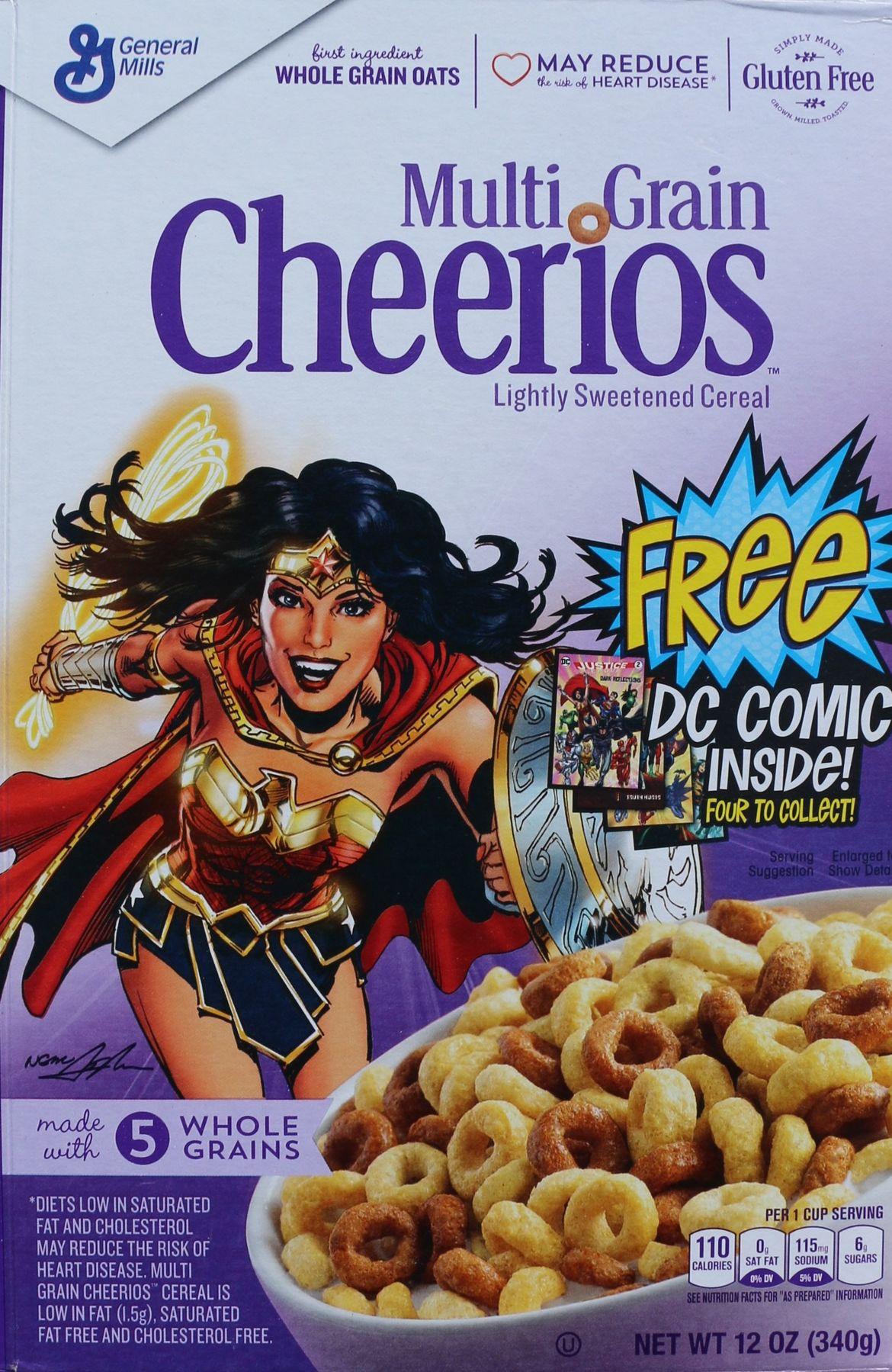 Wonder Woman cereal