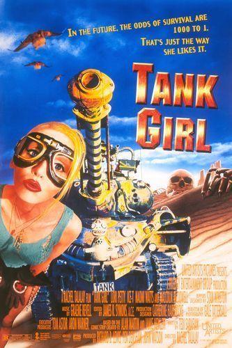 Tank Girl 1995 Poster