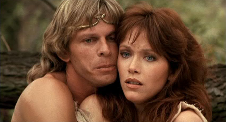tanya roberts, marc singer, the beastmaster