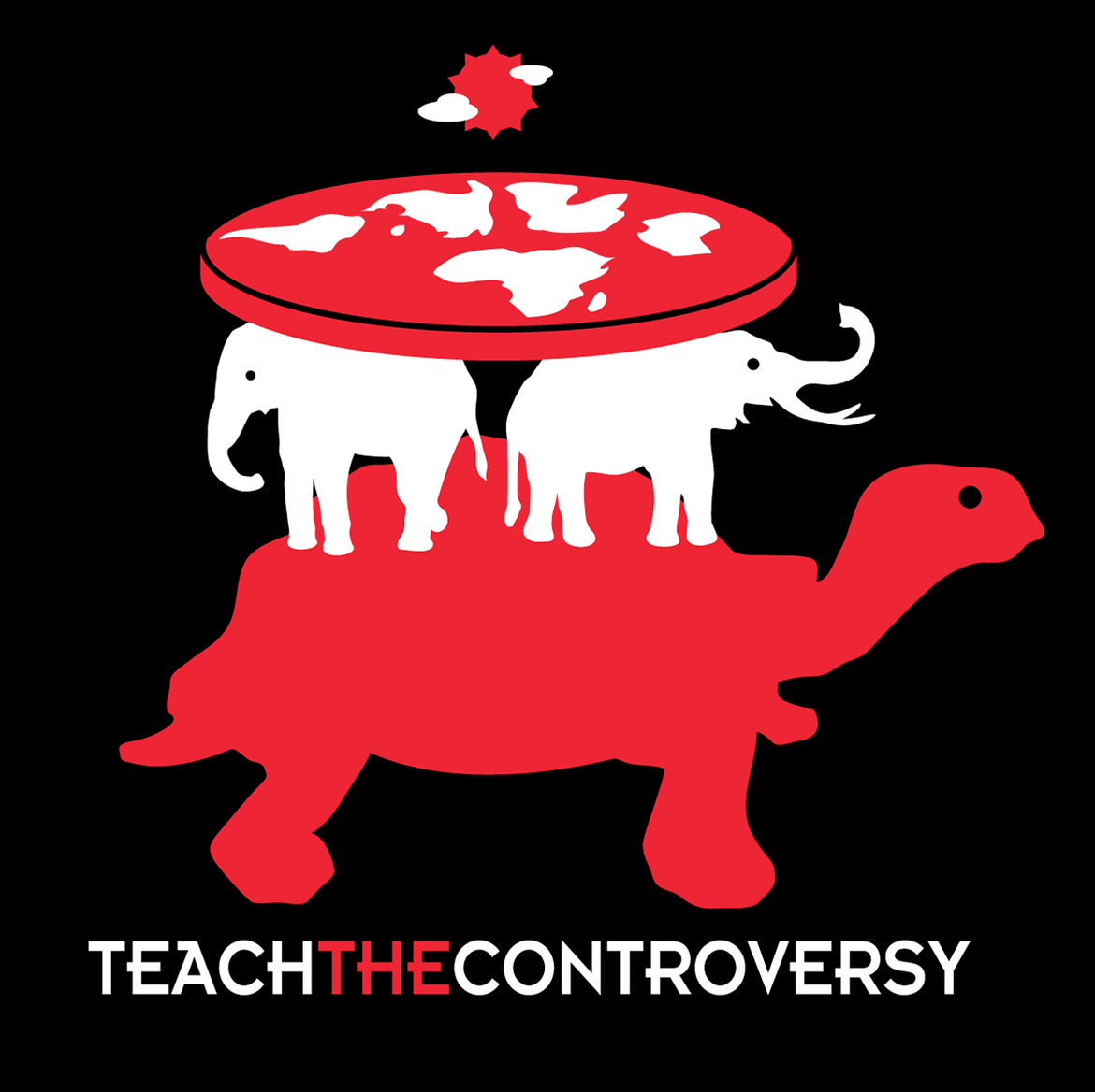 It's turtles all the way down. Credit: Teach the Controversy
