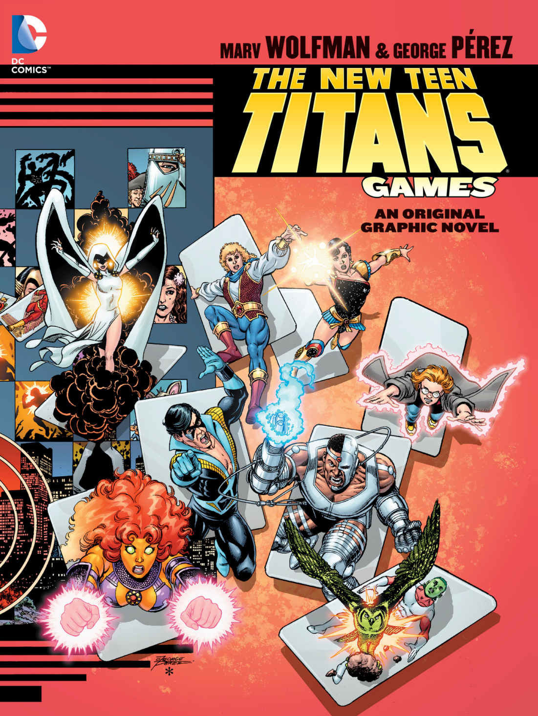 New Teen Titans Games OGN by Marv Wolfman and George Perez