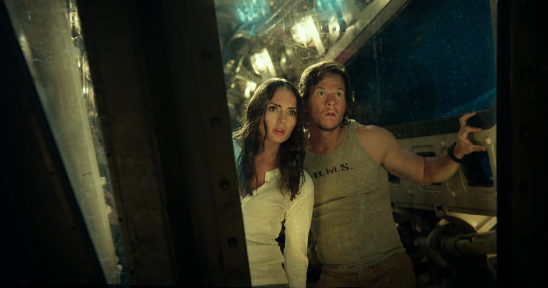Laura Haddock, Mark Wahlberg, Transformers: The Last Knight