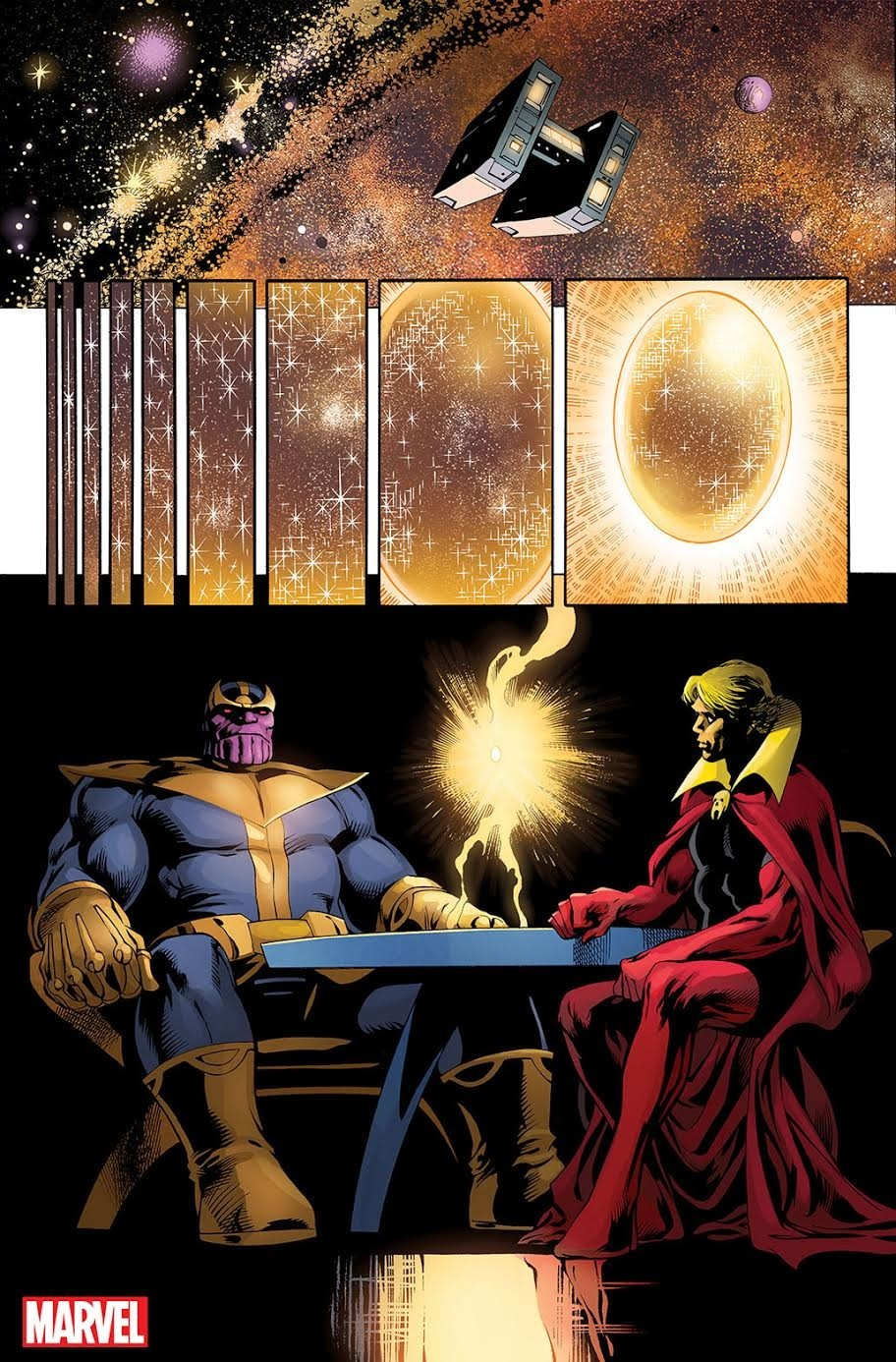 Thanos: Infinity Conflict- Page 1