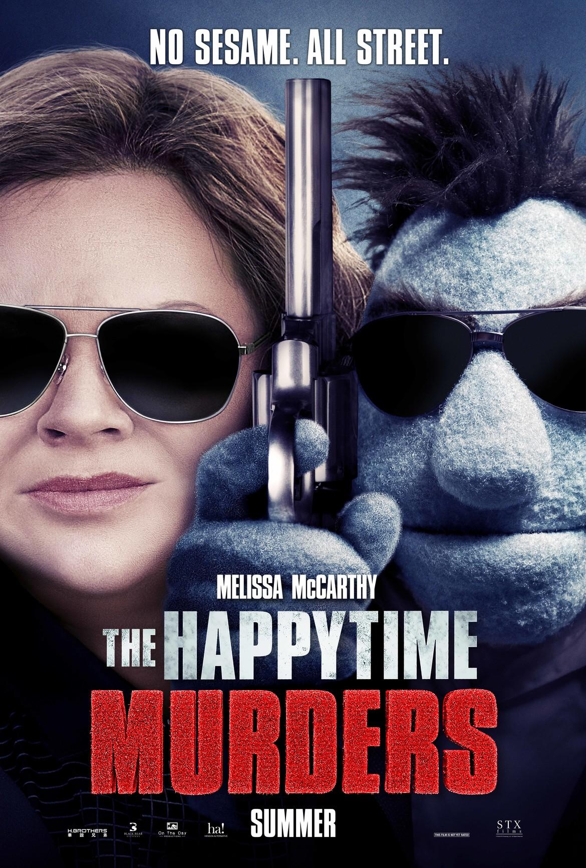 Happytime Murders poster