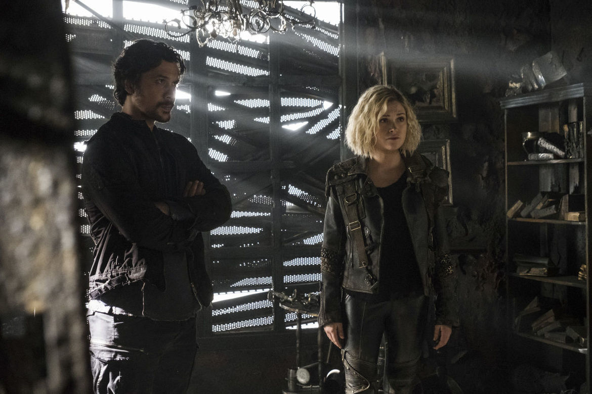 The 100's Bellamy and Clarke