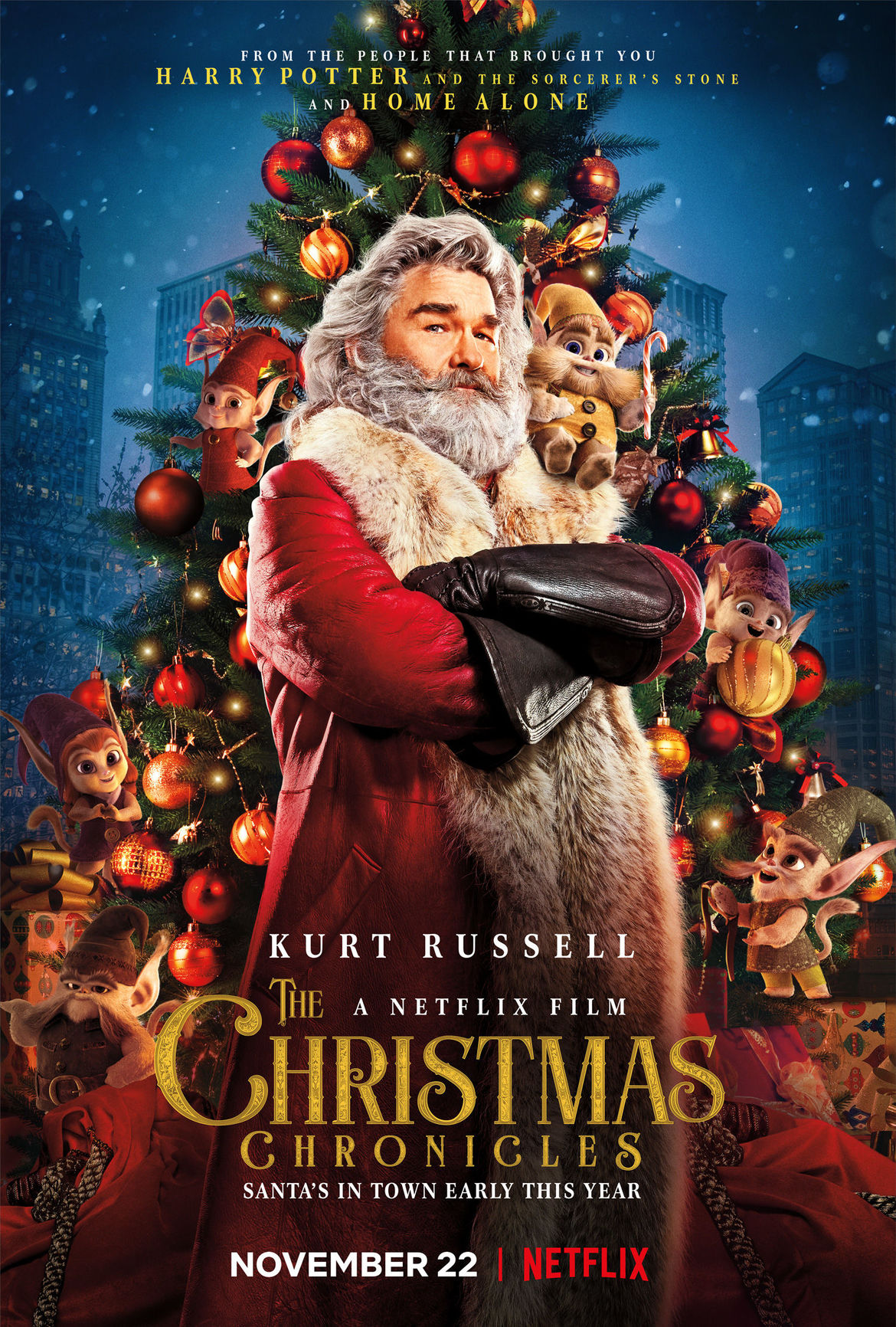 The Christmas Chronicles: Kurt Russell is your new favorite Santa in ...