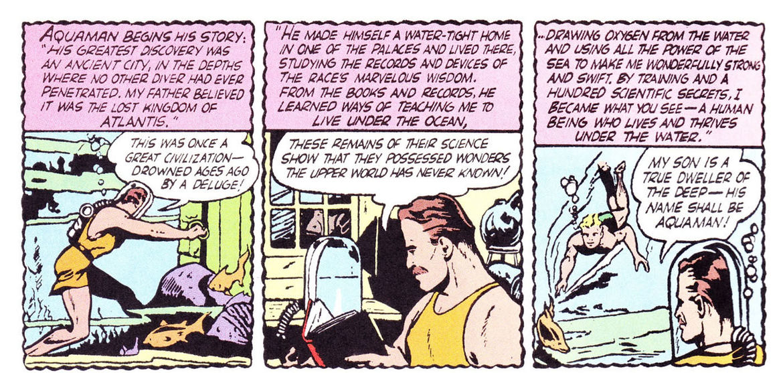 The First Aquaman Origin