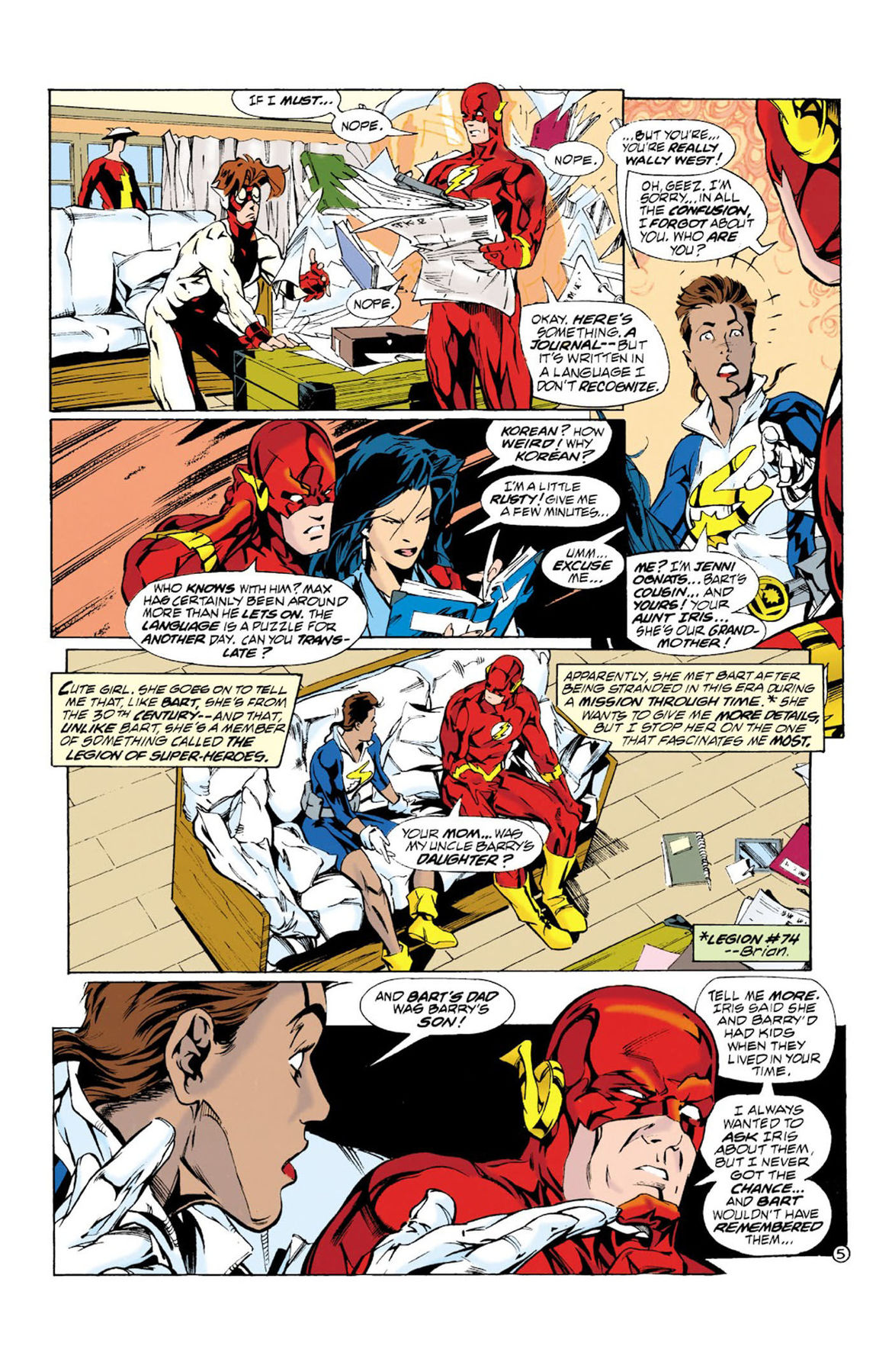The Flash 109 page 1