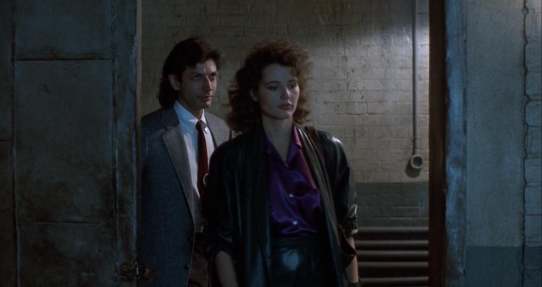 The Fly Geena Davis leather jacket
