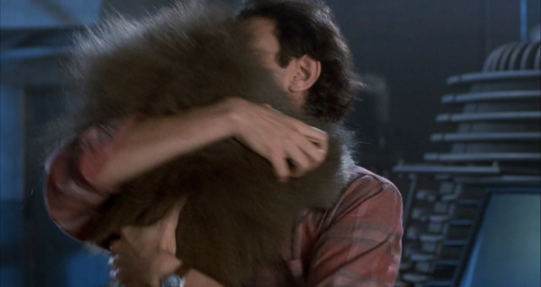 The Fly Jeff Goldblum baboon