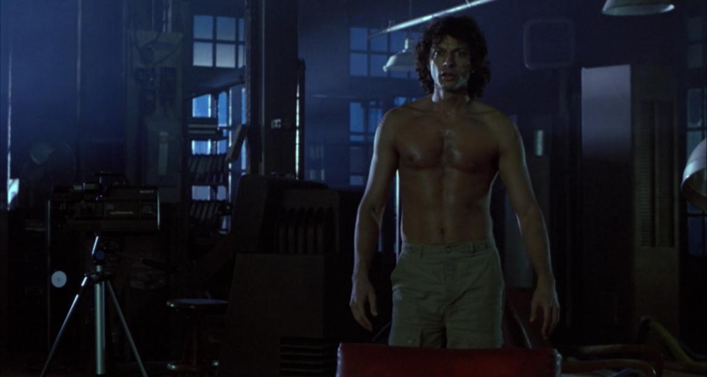 The Fly Jeff Goldblum shirtless