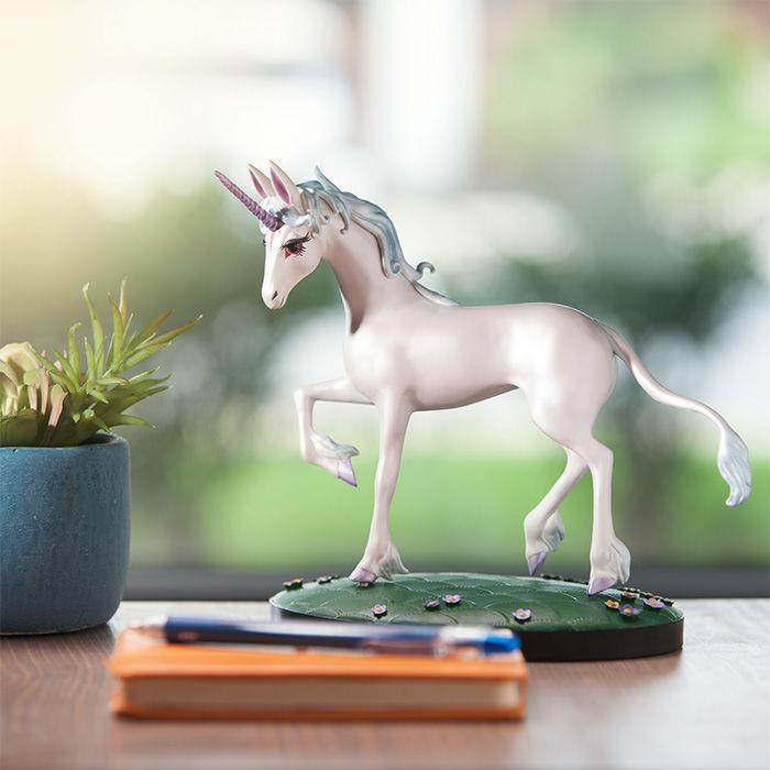 the last unicorn statue