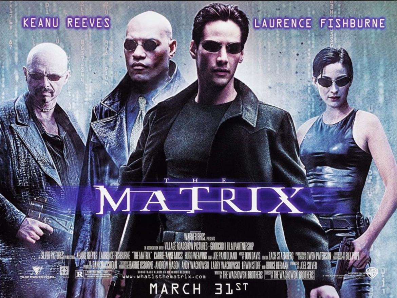 The Matrix Promo Poster