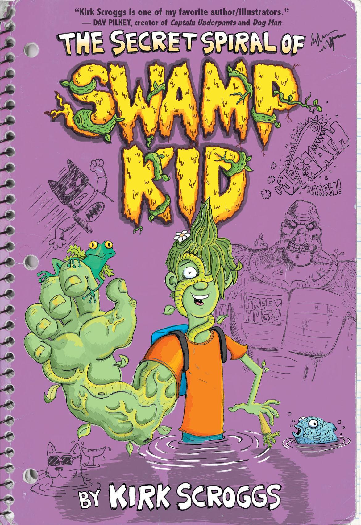 The Secret Spiral of Swamp Kid cover