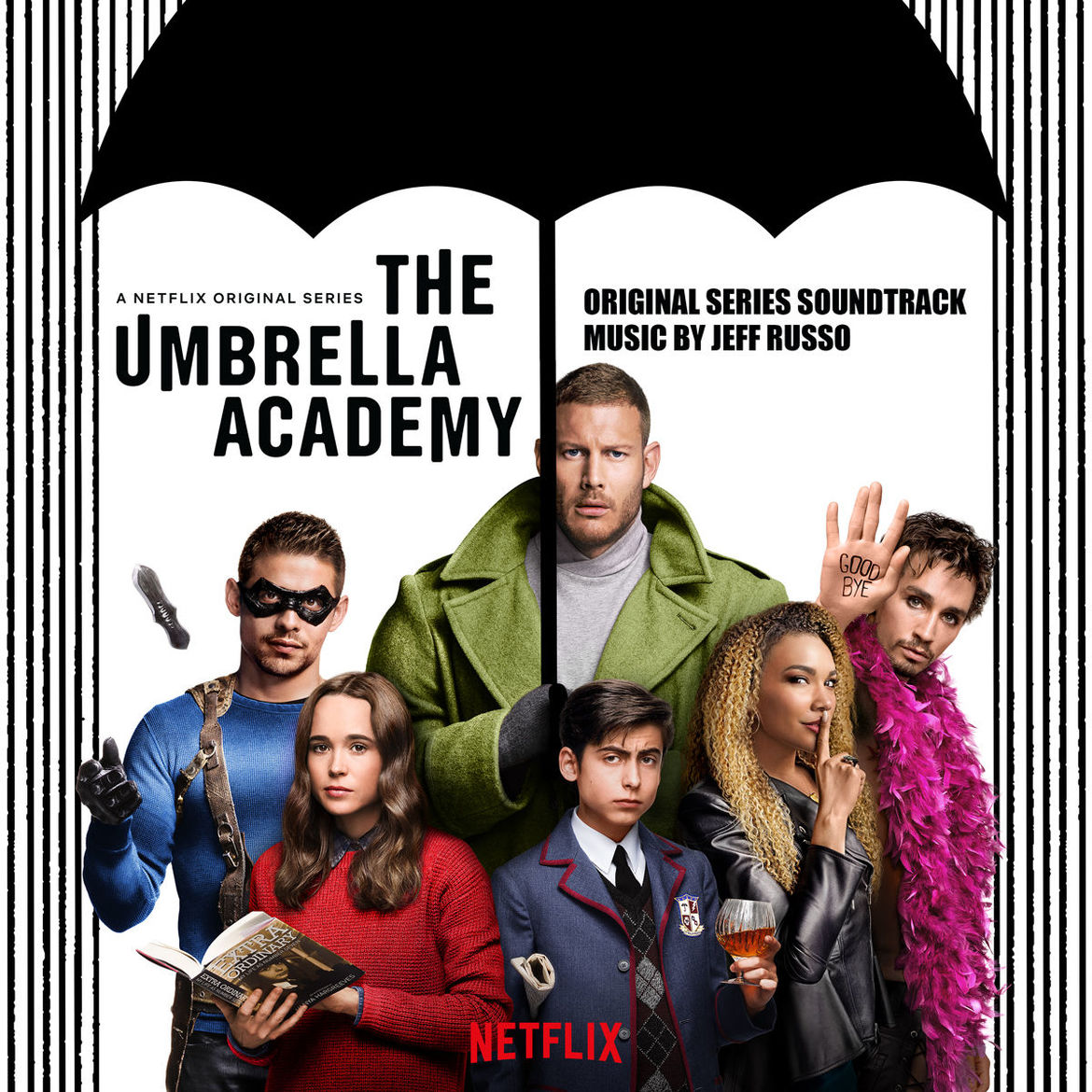 The Umbrella Academy soundtrack album cover