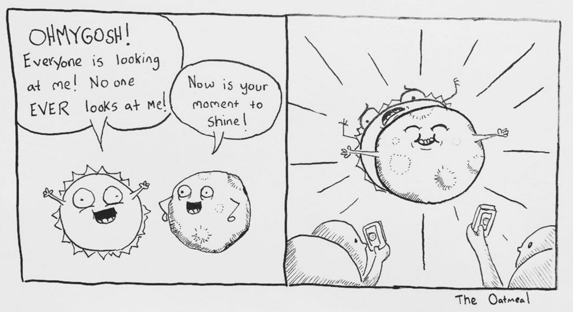 Oatmeal comic on the eclipse