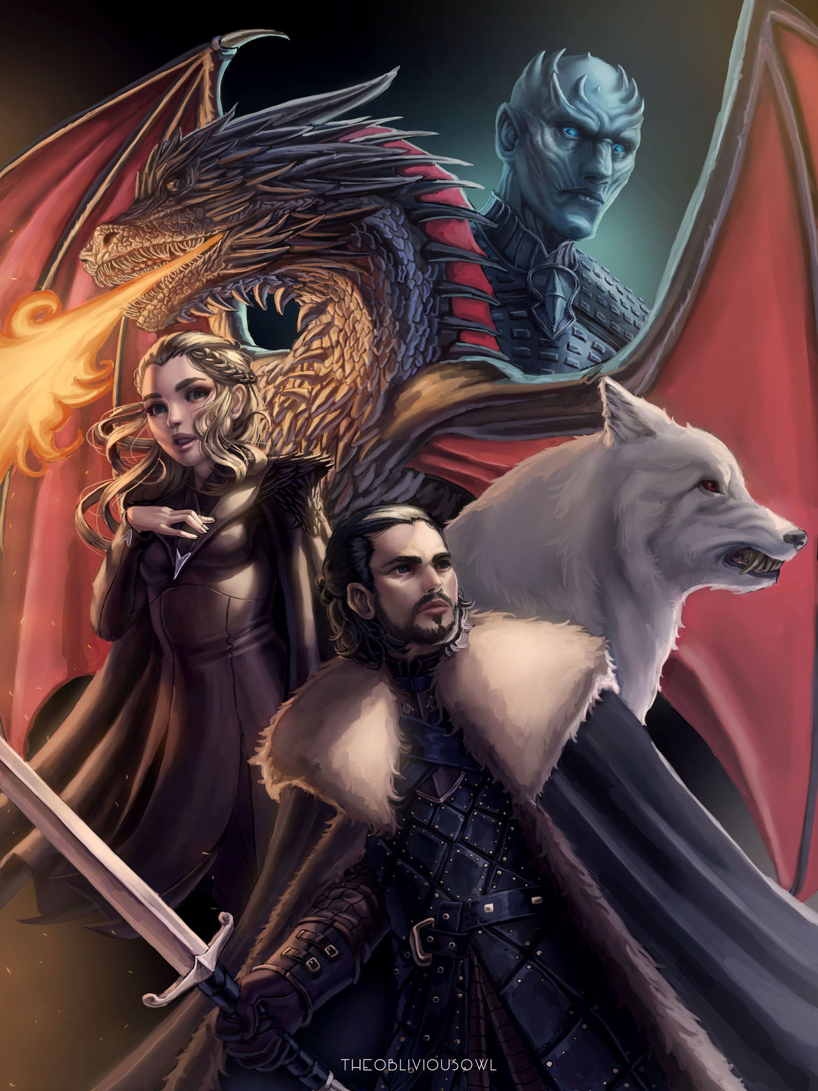 Game of Thrones fanfiction keeps the story going