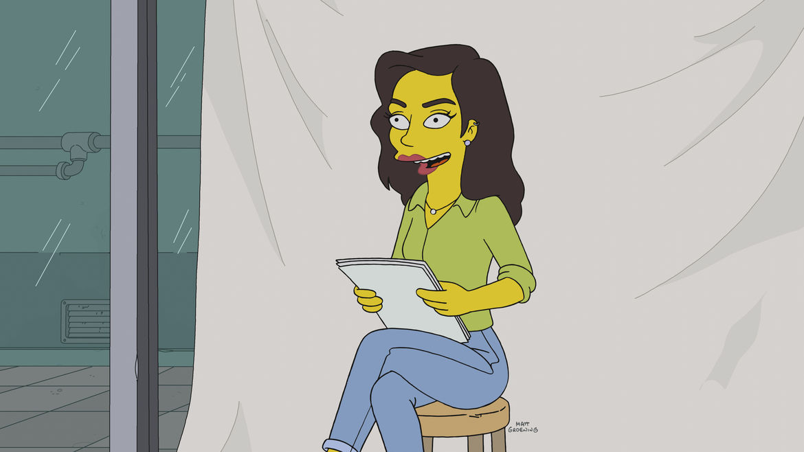 The Simpsons Gal Gadot Bart's Not Dead