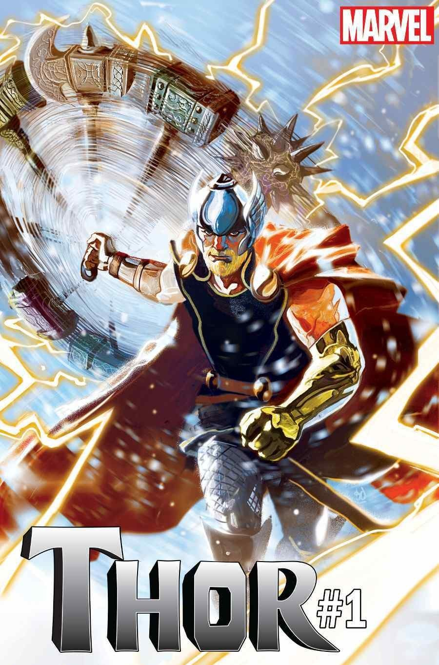 New Thor #1 Cover by Mike Del Mundo